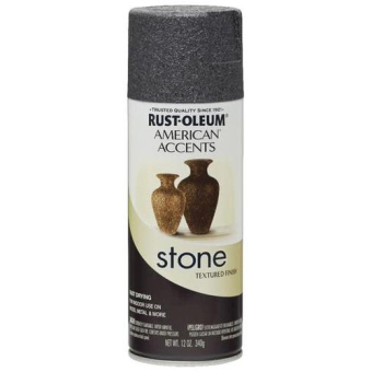 Harga Rust-oleum American Accents Stone Textured Mica Stone (Slate) 286729