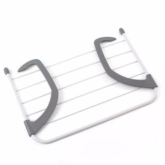 Collapsible Towel Clothes Hanger Multi-purpose Clothes Rack - intl - 3