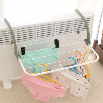 Collapsible Towel Clothes Hanger Multi-purpose Clothes Rack - intl - 4