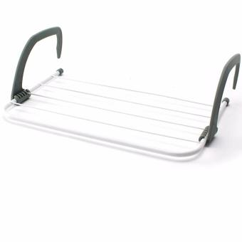 Collapsible Towel Clothes Hanger Multi-purpose Clothes Rack - intl - 2