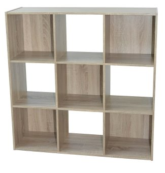 Harga Bilrich Furniture Compo 3x3 Storage Cube (Oak)