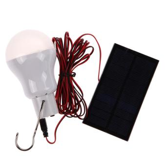 Harga Portable Solar Power LED Bulb Lamp Outdoor Lighting Camp Tent Fishing Lamp