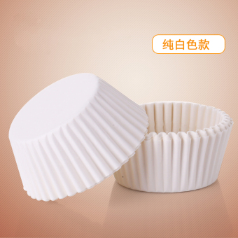 Harga Oilproof frilling snow mei niang chocolate cupcake cups baking paper pad oven white chocolate packaging