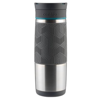 Contigo AUTOSEAL Metra/Transit Stainless Steel Travel Mug, 16 oz, Blue Accent - 2