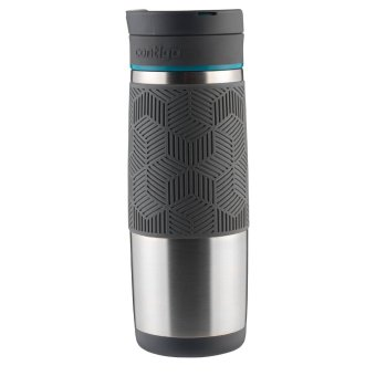 Contigo AUTOSEAL Metra/Transit Stainless Steel Travel Mug, 16 oz, Blue Accent - 3
