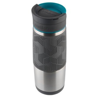 Contigo AUTOSEAL Metra/Transit Stainless Steel Travel Mug, 16 oz, Blue Accent - 5