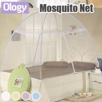 Harga To Fight ZIKA! Foldable Mosquito Net Insect Repellent Canopy Tent