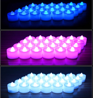Harga Battery-powered Flameless LED Tealight Candles Fairy Lights