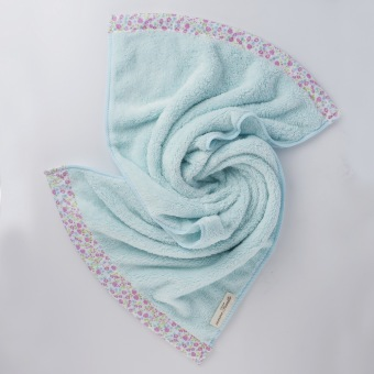 NASTEX Japan famille microfiber floral luxe bath towel, 70 x 140 cm (Pink) - 4
