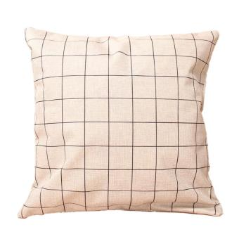 Geometry Nature Home Decor Cotton Linen Throw Pillow Case Cushion Cover 02