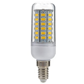 Harga E14 LEDs Corn Light 5W 500LM 56 SMD-5730 3000K (WARM WHITE LIGHT)