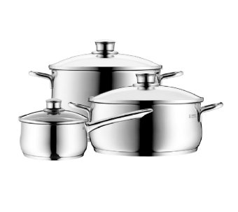 Harga WMF Diadem Plus 3pc Cookware Set