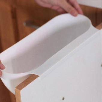 Home Kitchen Cabinet Trash Storage Box Organizers Garbage Holder Portable Rubbish Storage Bins Organizer 29x17x11.5cm - intl - 4