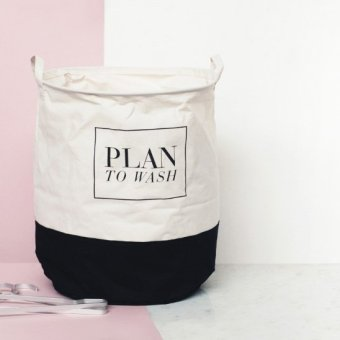 Harga (A: Plan to wash) Fabric Laundry Basket