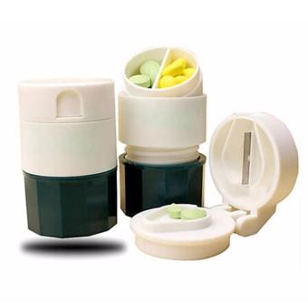 Harga Cut n Crush Pill Cutter (Green)