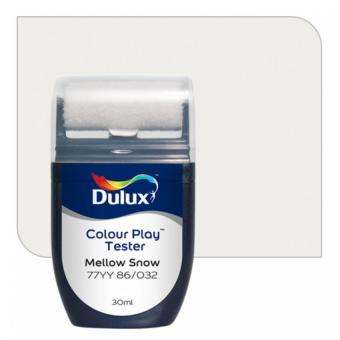 Dulux Colour Play Tester Mellow Snow 77YY 86/032
