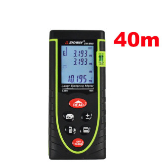 RZ40 -0.05 40m 131ft -- Digital Laser distance meter Rangefinder Range finder Bubble level Tape measure Area/volume tool(Export)(Intl)