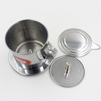 Harga Coffee Filter Set Vietnamese Traditional Coffee Phin Filter Coffee Infuser - intl