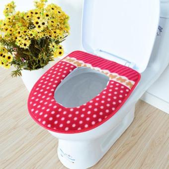 Harga Winter Toilet Seat Cover Warmer Soft - intl