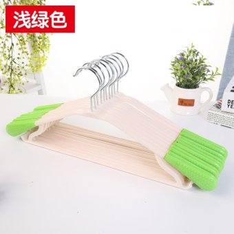 Seamless plastic clothes rack clothes hanger adult hanger clothes hanging clothes rack home clothes hangers drying racks