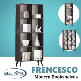 Harga Frencesco Multifunction Bookshelves Twin (FREE Install & Delivery)