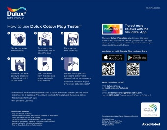 Dulux Colour Play Tester Naughty Neutral 30YR 40/061 - 5