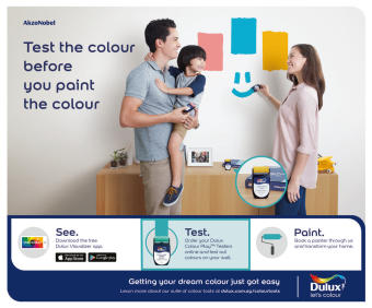 Dulux Colour Play Tester Naughty Neutral 30YR 40/061 - 2