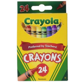Harga Crayola Crayons 24 count (Pack of 2)