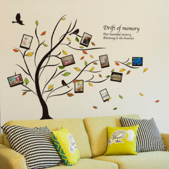 Harga Creative cozy frame dorm room living room bedroom bedside background wall decoration wall stickers wall sticker