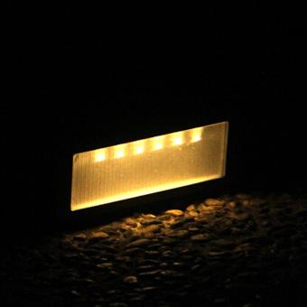 Solar Power PIR Motion Sensor Wall Light Waterproof Warm White Light - 5