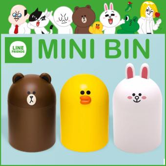 Harga Naver Korea Line friends Mini Bin Brown Sally Cony - intl
