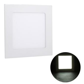 LED Recessed Ceiling Panel Down Lights Bulb Slim Lamp Square Cool White 12W - intl