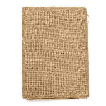 10M Vintage Table Runner Jute Burlap Hessian Ribbon Wedding Party Craft Decor - intl