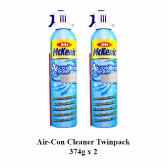 Harga Mr Mckenic Air-con Cleaner Set 374g x 2