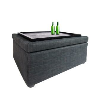 Harga Ottoman Coffee Table Grey