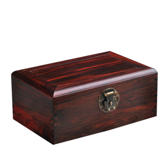 Harga Mahogany Red Wood Chinese antique Wooden Jewelry Box Wood high-end jewelry box Vintage Jewelry Box storage wooden box