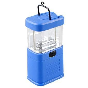 Harga 11 LED Portable Camping Night Light Camp Bivouac Tent Fishing Lantern Lamp Blue New - intl