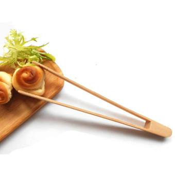 UDMug Wooden Bread Clip Toast Salad Tongs Serving Tongs German beech - intl - 2