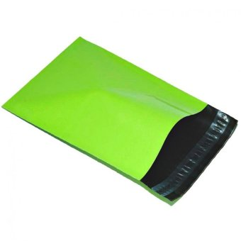 Harga 100pcs x A4 Size [ 22cm x 30cm] Green Colored Poly Mailer Mailing Bag. - Green