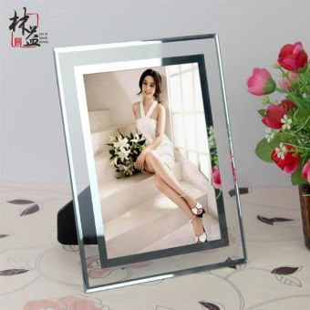 Harga Yi lin crystal glass awards 6 7 8 10 swing sets photo frame child picture frame certificate frame a4 wall