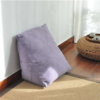 Harga Wei the triangular soft bag sofa bed pillow cushion pillow cushion office waist pillow neck