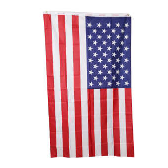 Harga YingWei American US Flag Polyester Printed Stars and Stripes USA Banner Flag