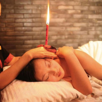 Harga Beewax Cleaner Ear Candling Therapy Straight Style Ear Care & Ear Candle