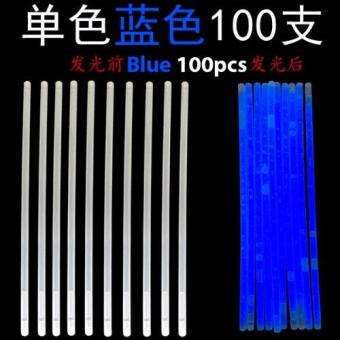 Harga Glow Light Stick - Blue 100pcs
