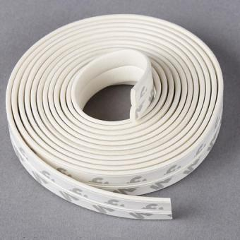 Collision Avoidance Foam Tape Gasket Door Window Seals Elastic Strip 5MTS 9 X 2MM White -