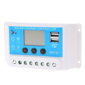 Anself 10A 12V/24V Solar Charge Controller - 2