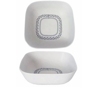 Harga BambUSA 6inch Deep Square Bowl Mosaic 2pcs set