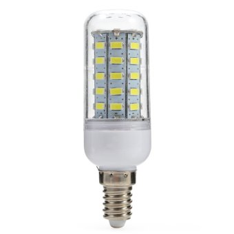 Harga E14 LED Corn Light 4.5W 450LM 48 SMD-5730 6500K (COOL WHITE LIGHT)