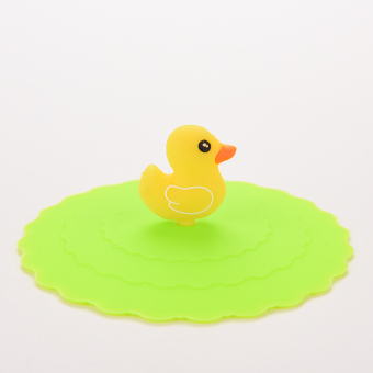 Harga Jetting Buy Silicone Cup Lid Watertight leakproof Green Duck