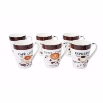 Harga Dolphin Collection New Bone China Mug 16.8 Oz (6 Pcs)